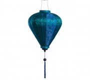 Blue-silk-lantern