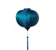 Teal-silk-lantern