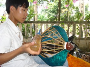 Hoi An lantern making.