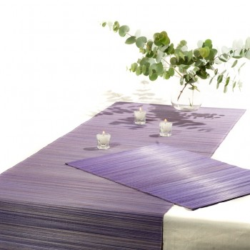 handmade placemats, Bamboo placemats and table runner