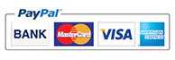 PayPal credit card payments.