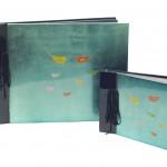 Dry mount photo album - handmade Vietnamese lacquerware