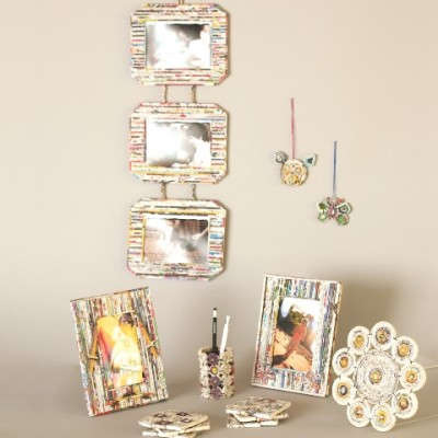 Recycled paper gifts