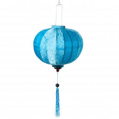 Handmade blue lantern