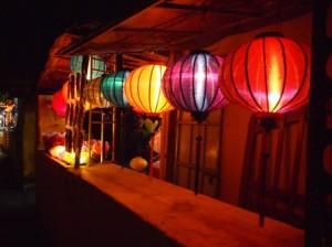 Silk lanterns - Hoi An, Vietnam