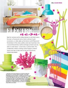 Bamboo bowls featured in Modern Home Magazine