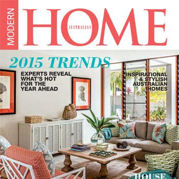 Australian Modern Home Magazine Cover