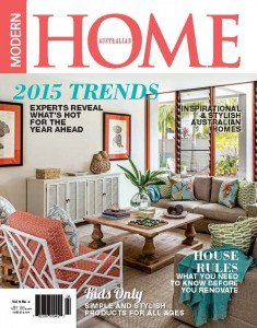 Australian Modern Homes Magazine Cover