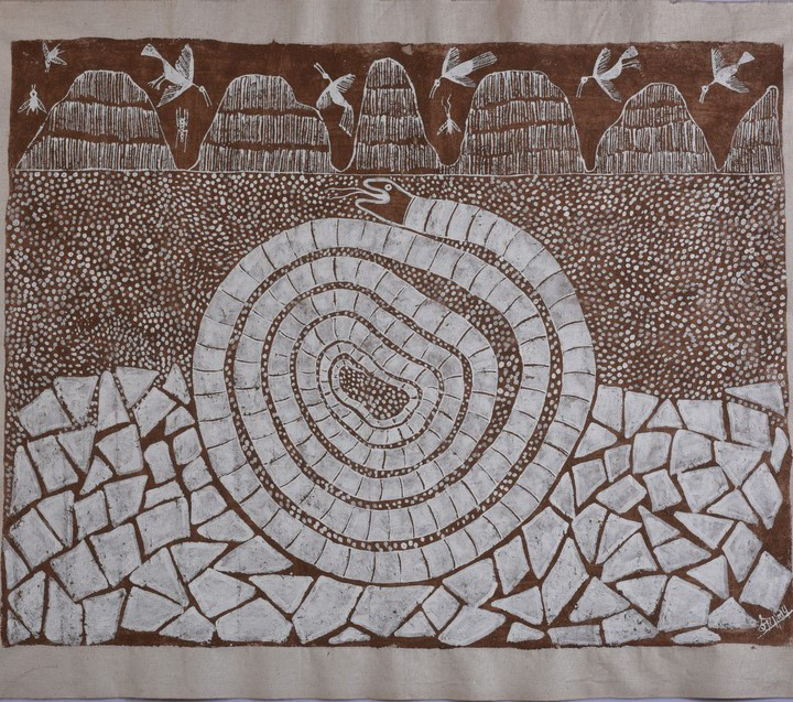 Warli-Serpent-of-life